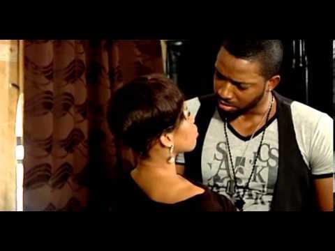 Fredrick Leonard Steals first Kiss - Nigerian Nollywood Movie Clip