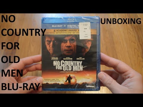 Unboxing No Country For Old Men Blu-Ray