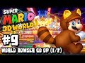 Super Mario 3D World Wii U - (1080p) Co-Op Part 9 - World Bowser (1/2)