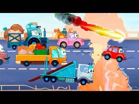 Мультик про машинку Вилли 5 серия. Армагеддон. Машинка Вилли спасает Землю. (видео)