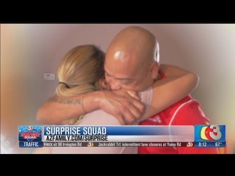 AZ Family's Surprise Squad helps a veteran give his wife a special day