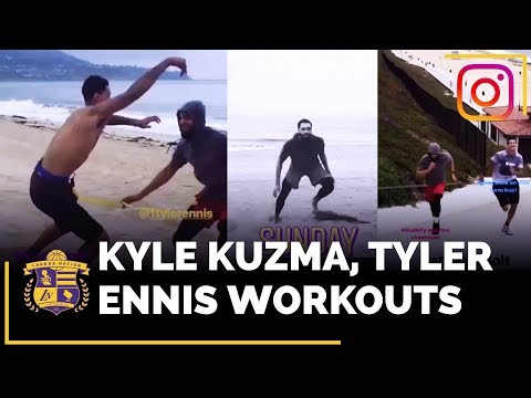 Video: Lakers Summer Workouts With Kyle Kuzma and Tyler Ennis