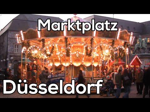 Marktplatz Dusseldorf Kerstmarkten