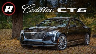 2019 Cadillac CT6 Review: The base turbo four-cylinder sedan won't leave you in tears by Roadshow