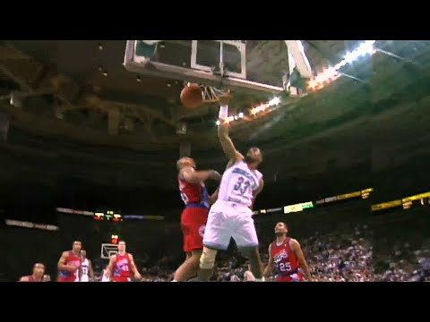 Alonzo Mourning - Hornets Highlights & Teammate Memories (видео)