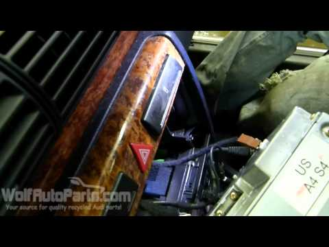 How to Remove Radio / Stereo – Audi A4 B5 1996-2001 (Wolf Auto Parts)