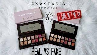 REAL vs FAKE: Anastasia Beverly Hills Modern Renaissance Palette