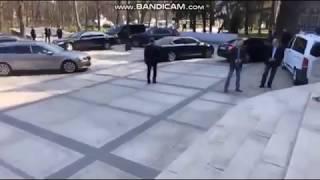"""Kaczyński dziś w Gdańsku """"uciekł tylnym wejściem"""""""
