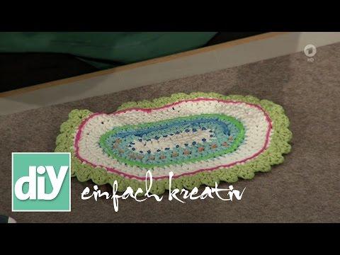 Gehäkelte Badematte | DIY einfach kreativ