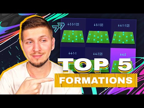 BEST FORMATIONS & TACTICS IN FIFA 21 ULTIMATE TEAM (SO FAR) - INCLUDING INSTRUCTIONS!