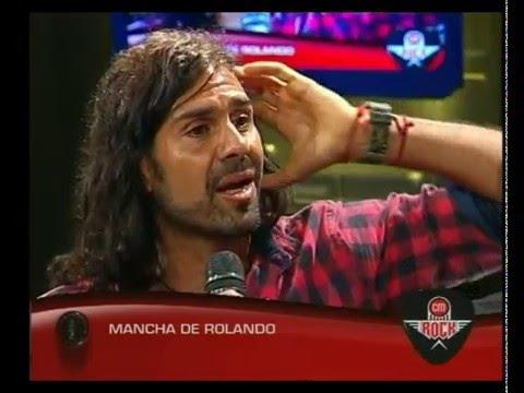 Mancha de Rolando video Entrevista CM Rock - Diciembre 2015