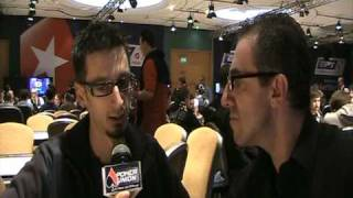 Interview With Ilias Zografos In EPT London 2009 By Pokerunion.gr