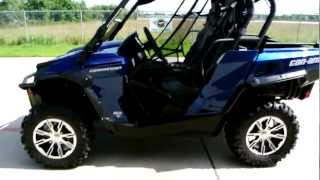 8. 2012 Can Am Commander Limited Overview Review Walk Around
