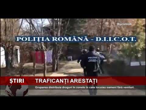 Grupare de traficanţi de droguri, destructurată în Capitală
