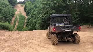 10. Can-Am Defender Hd10 Dps and Polaris Rangers riding at Rush Off Road Park in KY. Aug 2019