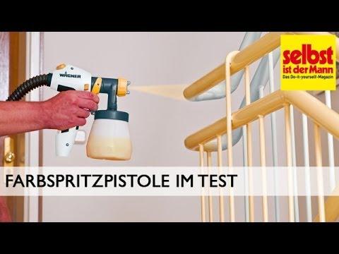 Farbspritzpistole im Test