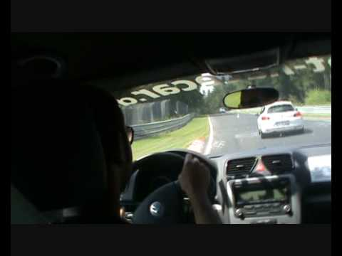 NURBURGRING ON BOARD VW SCIROCCO RENT A RACE CAR