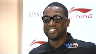 August 03, 2014 - WSVN - Dwyane Wade Opens Up About LeBron James's Departure