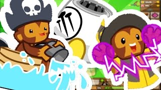 BLOONS TOWER DEFENSE 5 - THE 1 TOWER ODDESSEY CHALLENGE!