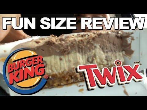 Fun Size Review: Burger King's Twix Pie