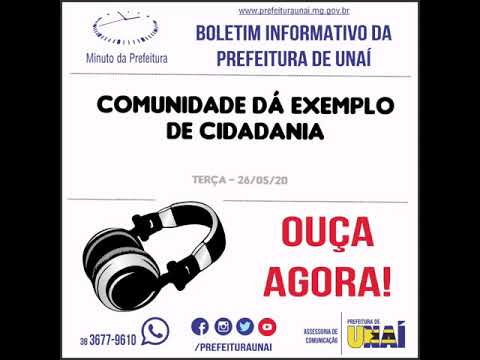 Boletim Informativo – Prefeitura de Unaí