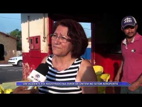 JATAÍ | Veículo desgovernado colide em bar no Setor Aeroporto