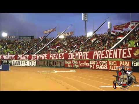 LOS DEMONIOS ROJOS l CARACAS FC Vs Atletico Vzla l TA2014 l 23-11-2014 - Los Demonios Rojos - Caracas