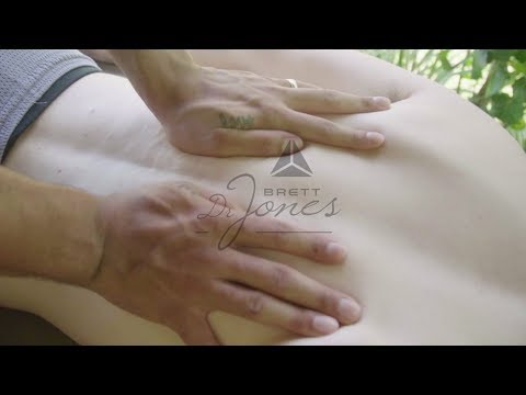First Chiropractic Adjustment For Videographer W/ Upper-Cross Syndrome - Dr. Brett Jones