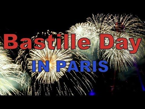 Celebrating Bastille Day in Paris, France (La Fête nationale - Le quatorze juillet)