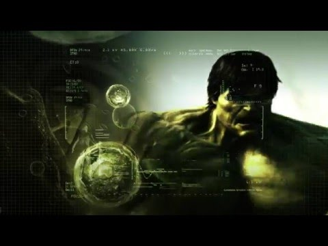 Incredible Hulk 2008 Blu-Ray Menu