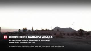 Президент Сирии обвинил США в помощи ИГИЛ в повторном захвате Пальмиры