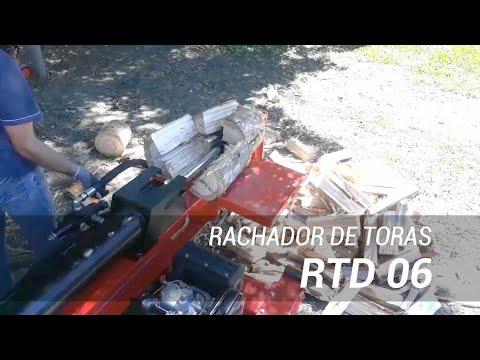 Rachador de Lenha com 40 Ton. de força a diesel RTD - 06