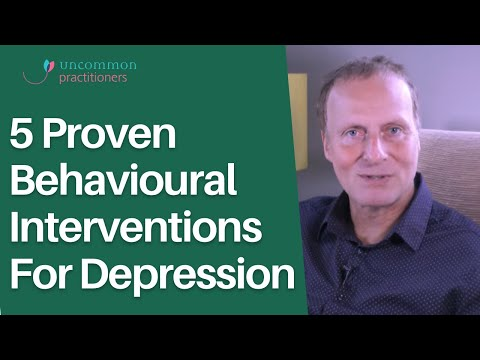 5 Proven Behavioural Interventions For Depression