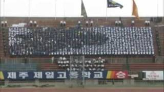 "SEE THIS VIDEO, BEFORE SEEING "" Human LCD"" video. SOUTH KOREA : High school students cheering for their soccer teams."