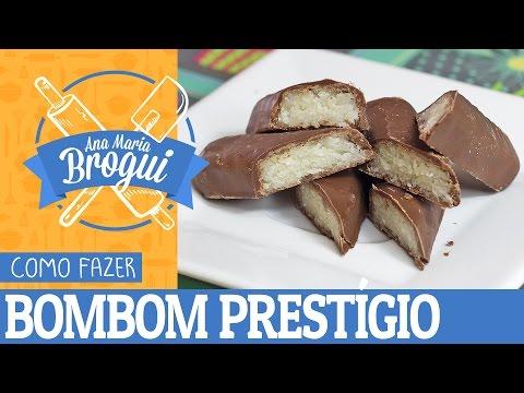 Receitas Famosas - COMO FAZER BOMBOM PRESTÍGIO  Ana Maria Brogui #10
