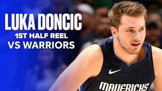 Luka Doncic (33 PTS) Almost Outscored Golden State Warriors In First Half (38 PTS) by Bleacher Report