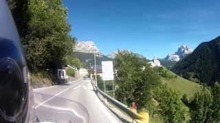 Pescul Italy  city pictures gallery : Moto Italia Dolomiti tour 4. del BMW K1200LT