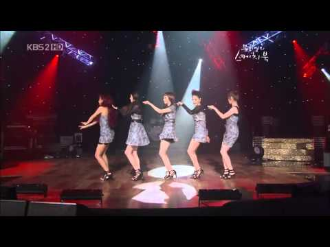 Wonder Girls performing on Yoo Hee Yeol's Sketchbook ( Tell Me, So Hot and Nobody )