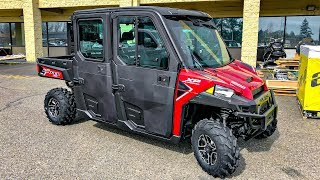 4. Ranger Crew XP1000 Northstar!! • 2018 GoldWing in Crate! | TheSmoaks Vlog_843