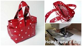 Video How to sew a Handbag - Step by Step Tutorial (Box Bag Pattern) MP3, 3GP, MP4, WEBM, AVI, FLV Desember 2018