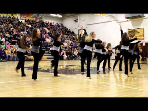 Capital High School Cadettes Dance Routine