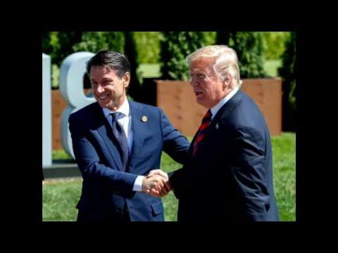 Italien / USA: Giuseppe Conte trifft Donald Trump