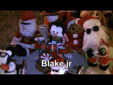Jingle Bells Christmas Carol  with Blake and Minda!  HD
