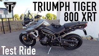 8. 2018 Triumph Tiger 800 XRT Test Ride