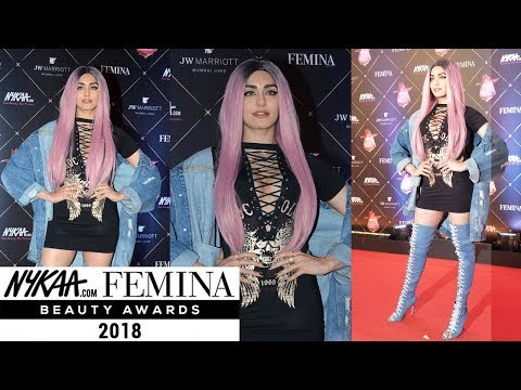 Adah Sharma Colorful Hairdo Grabs Attention at Fem