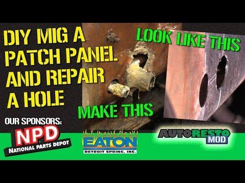 DIY Basic Patch Panel Rust Damage Repair Car Tips and Tricks Epsisode 375 Autorestomod