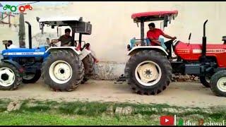 swaraj 963 vs new Holland 3630 4×4 tractor tochan