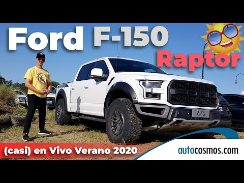 Ford F-150 Raptor, priomer contacto con el Mustang del off-road
