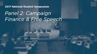 Click to play: Campaign Finance and Free Speech - Event Audio/Video