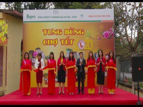 Hapro mang 'Chợ Tết' đến với người dân ngoại thành Hà Nội